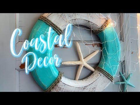 COASTAL/BEACHY DECORATING! GET YOUR BEACH (((VIBES))) ON! 🐠 🏖 🌊