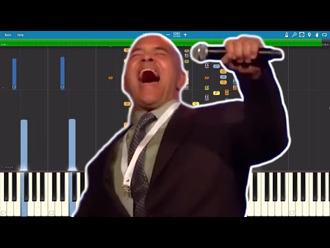 Bitconnect Scam Song ft. Carlos from NY - Piano Cover - IMPOSSIBLE REMIX