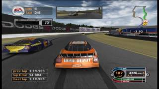 NASCAR 2005: Chase For The Cup - Tony Stewart @ Infineon (Sears Point or Sonoma) - 720p 60FPS