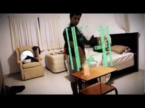 Iron Man 3D Interactive Hologram