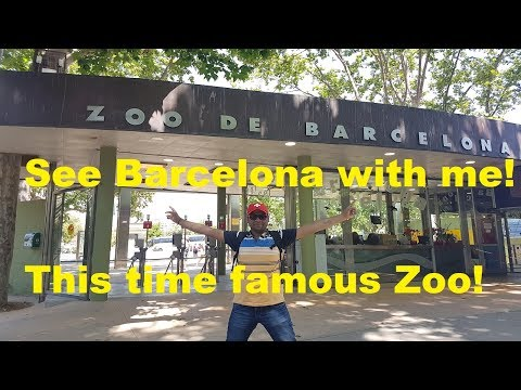 Barcelona Trip Part 2 | Barcelona Zoo, Spain |  Travel Guide | Top Attractions