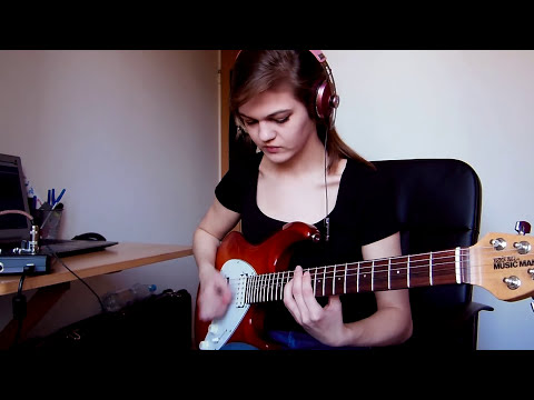 Porcupine Tree - Arriving Somewhere But Not Here guitar cover by Sylwia Urban