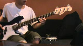 Pink Panther Theme Song on Bass