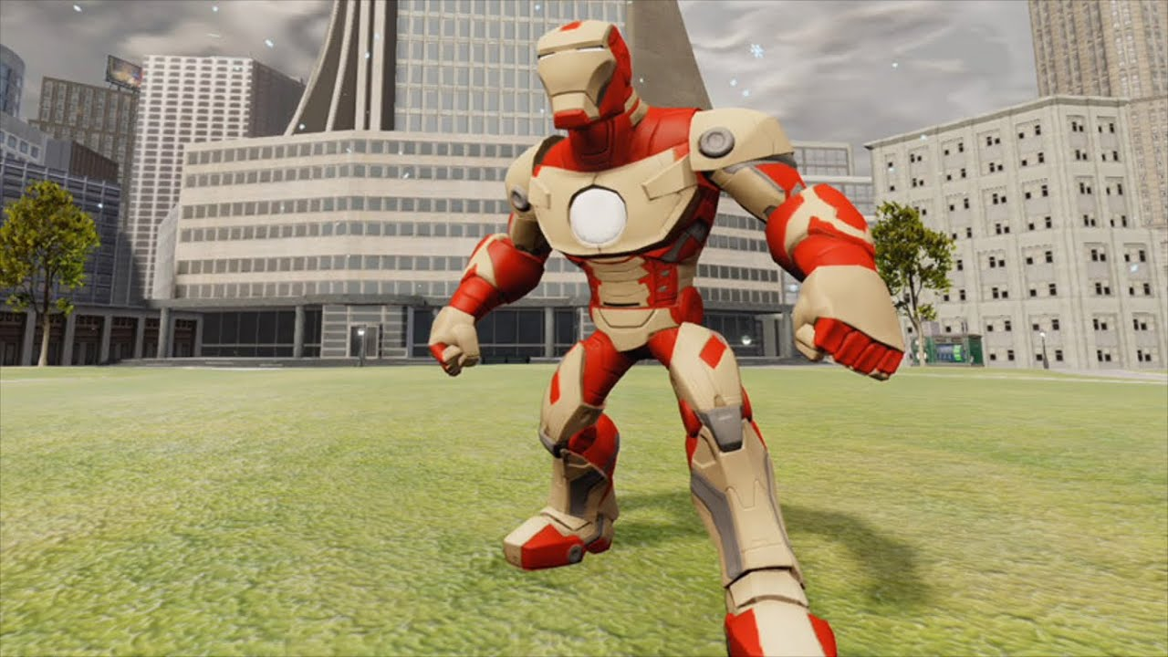 download disney infinity 2 0 iron man mark 42 gameplay