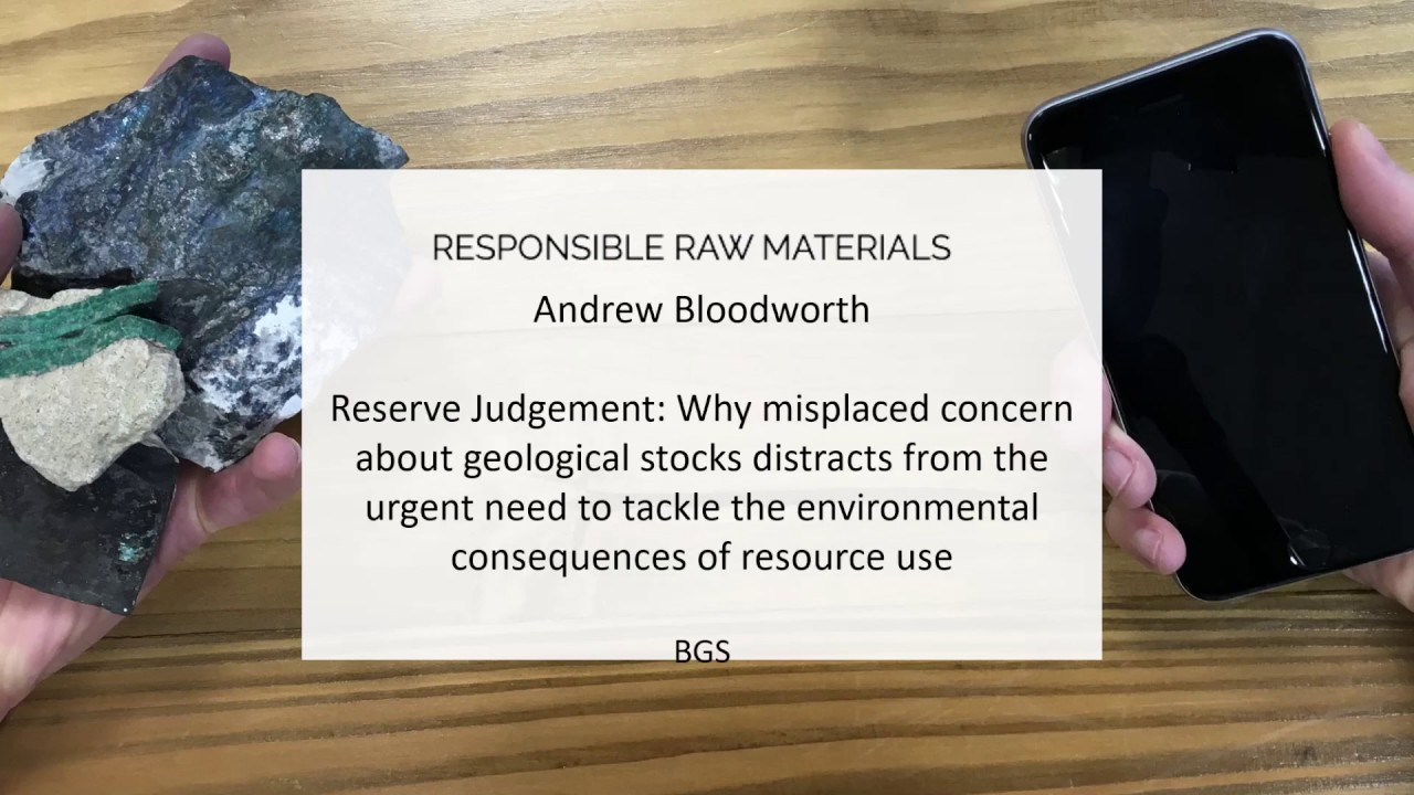 Andrew Bloodworth - Reserve judgement: Why misplaced concern about geological stocks distracts...
