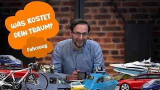 Velo oder Auto: Wie sieht dein Traum-Fahrzeug aus? | Was kostet dein Traum? Ep. 3 | FinanceScout24
