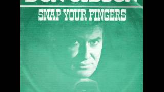 Don Gibson ~ Snap Your Fingers