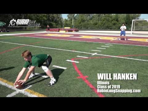 Will Hanken - Long Snapper