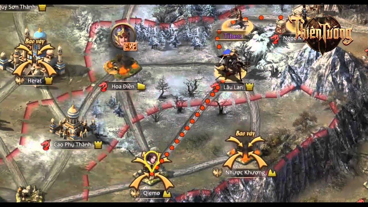 [Thiên Tướng] Game Chiến Thuật Dàn Trận Đặc Sắc Nhất 2016