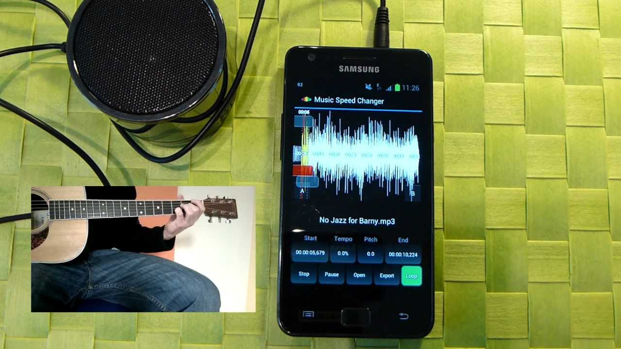 Music Speed Changer App for Android