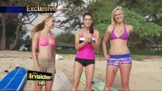 The Insider - AnnaSophia Robb Soul Surfer with Bethany Hamilton YouTube Videos