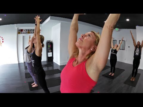 sweat in the city real hot yoga from running broadcast