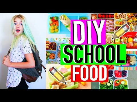 DIY Healthy Breakfast & Lunch Ideas For School 2016-2017!!