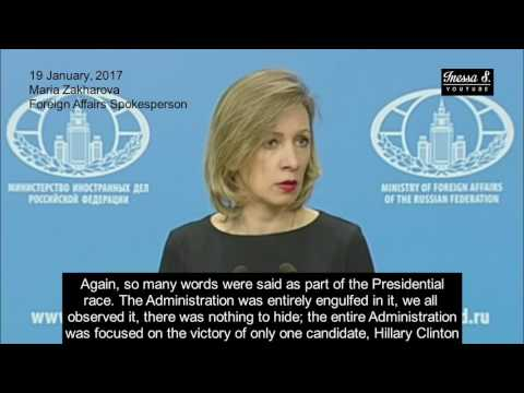 Russia roasts State Department shill Samantha Power - 19.01.2017