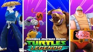 ЧЕРЕПАШКИ-НИНДЗЯ  - СОСТАВЫ ПОДПИСЧИКОВ - НОВЫЕ СЕРИИ (мобильная игра) видео для детей TMNT Legends