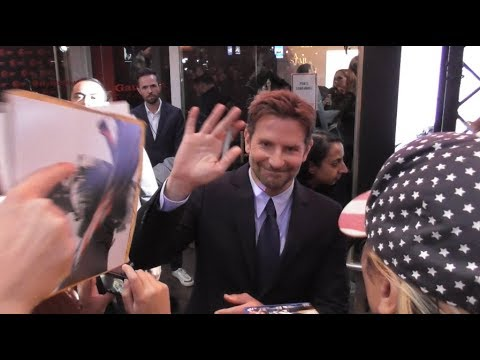 Bradley COOPER @ Paris 1 october 2018 for the France premiere of A Star is Born