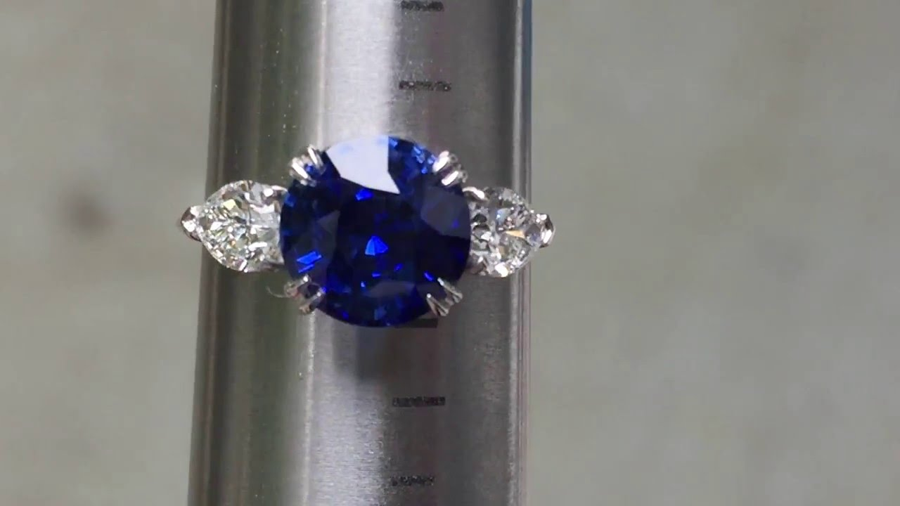 sapphire ratti for ring product gold panchdhatu blue neelam clara carat astrological plated