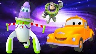 El Taller de Pintura de Tom La Grúa: El Cohete es Buzz Lightyear de Toy Story Disney Pixar Cartoons