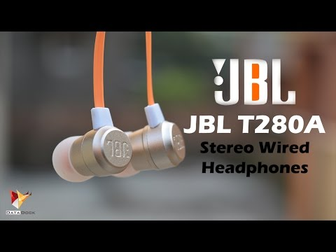 JBL T280A Stereo Wired Headphones | One of the Best Pick Under 2K | Data Dock