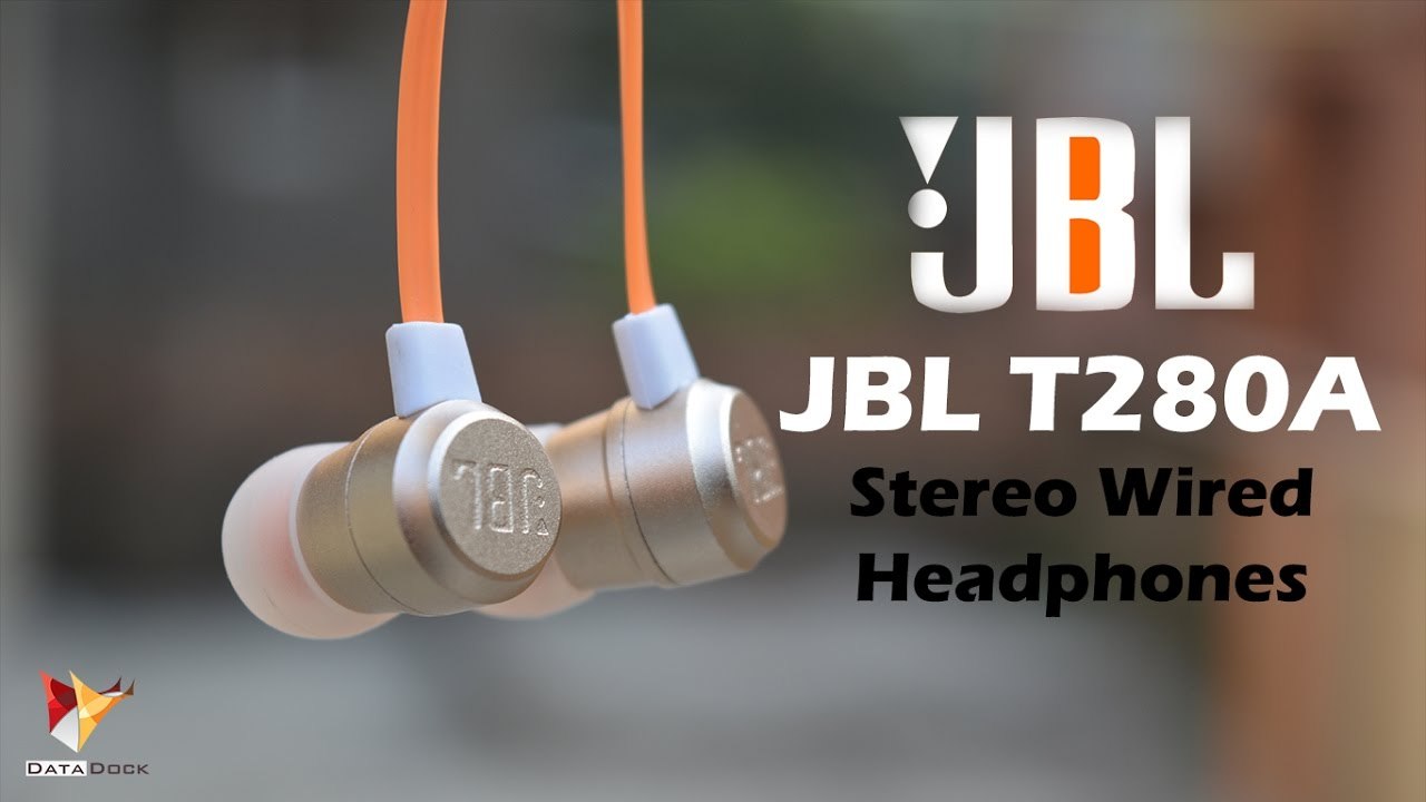 Jbl T280a Stereo Wired Headphones One Of The Best Pick Under 2k In Ear Headphone T290 Silver Data Dock