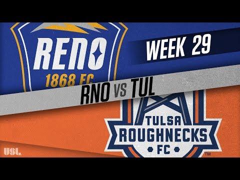 Reno 1868 FC vs Tulsa Roughnecks FC: September 29, 2018