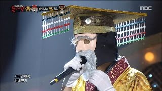 [King of masked singer] 복면가왕 - 'Tell them I'm Dragon King' 2round! - Moon of Seoul 20160103