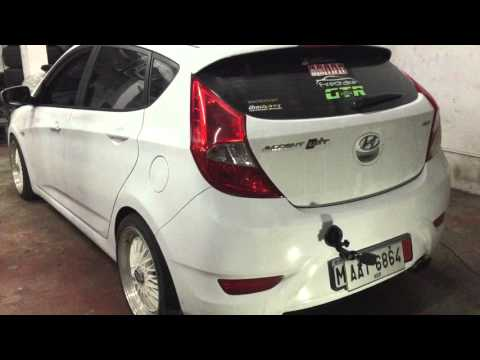 Hyundai Accent Crdi Full Exhaust system, FMIC DRIFT Xaust