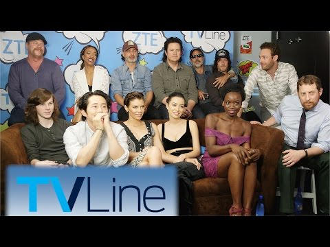The Walking Dead Interview | TVLine Studio Presented by ZTE | Comic-Con 2016