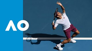 Roger Federer vs Tennys Sandgren  - Match Highlights (QF) | Australian Open 2020
