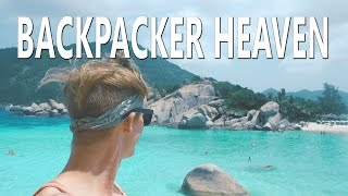 BACKPACKERS PARADISE + (Very Angry Thai Boat Driver) - Koh Tao Thailand