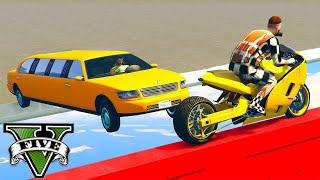 GTA V Online: LIMOUSINE vs HAKUCHOU DRAG - A MAIOR CAGADA!!!
