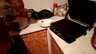 Готовить шашлык на электрогриле