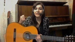 Как быстро научиться играть на гитаре Статья в описании видео Новичкам Виктория Юдина