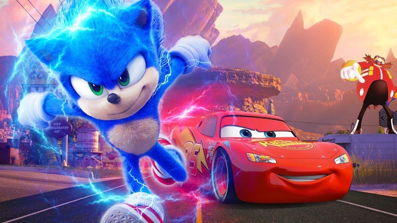 Lightning McQueen Vs Sonic The Hedgehog ⚡️ Best Of Future Cars