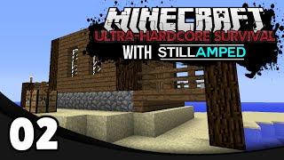 Minecraft Ultra-Hardcore Survival - Ep. 2: House Building