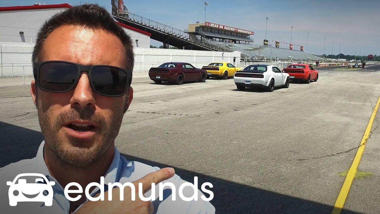 Dodge Challenger Srt Demon Review Test Drive Edmunds