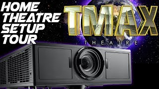 Home Theater Setup Tour - Best Projector for Home Cinema