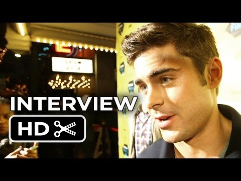 Neighbors Premiere Interview - Zac Efron (2014) - Comedy Movie HD
