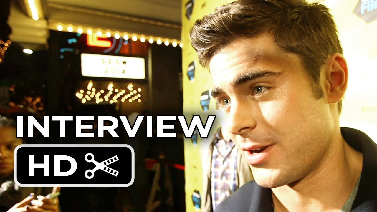 Neighbors Premiere Interview - Zac Efron (2014) - Comedy ...
