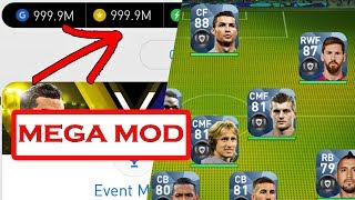 PES 2018 Mobile Mod / Hack ( 20 Black Ball Players ) [ Android / iOS ]