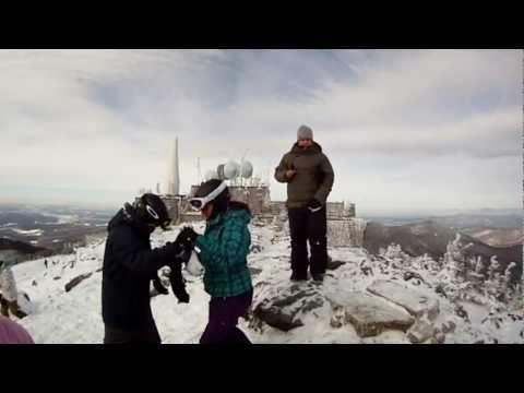 At the Peak of Jay's Peak