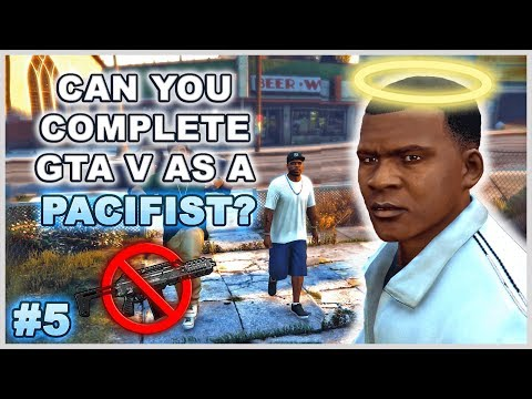 Can You Complete GTA 5 Without Wasting Anyone? - Part 5