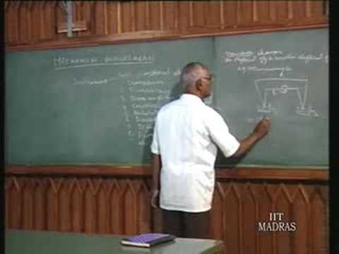 Lecture - 1 Principles Of Mechanical Measurements
