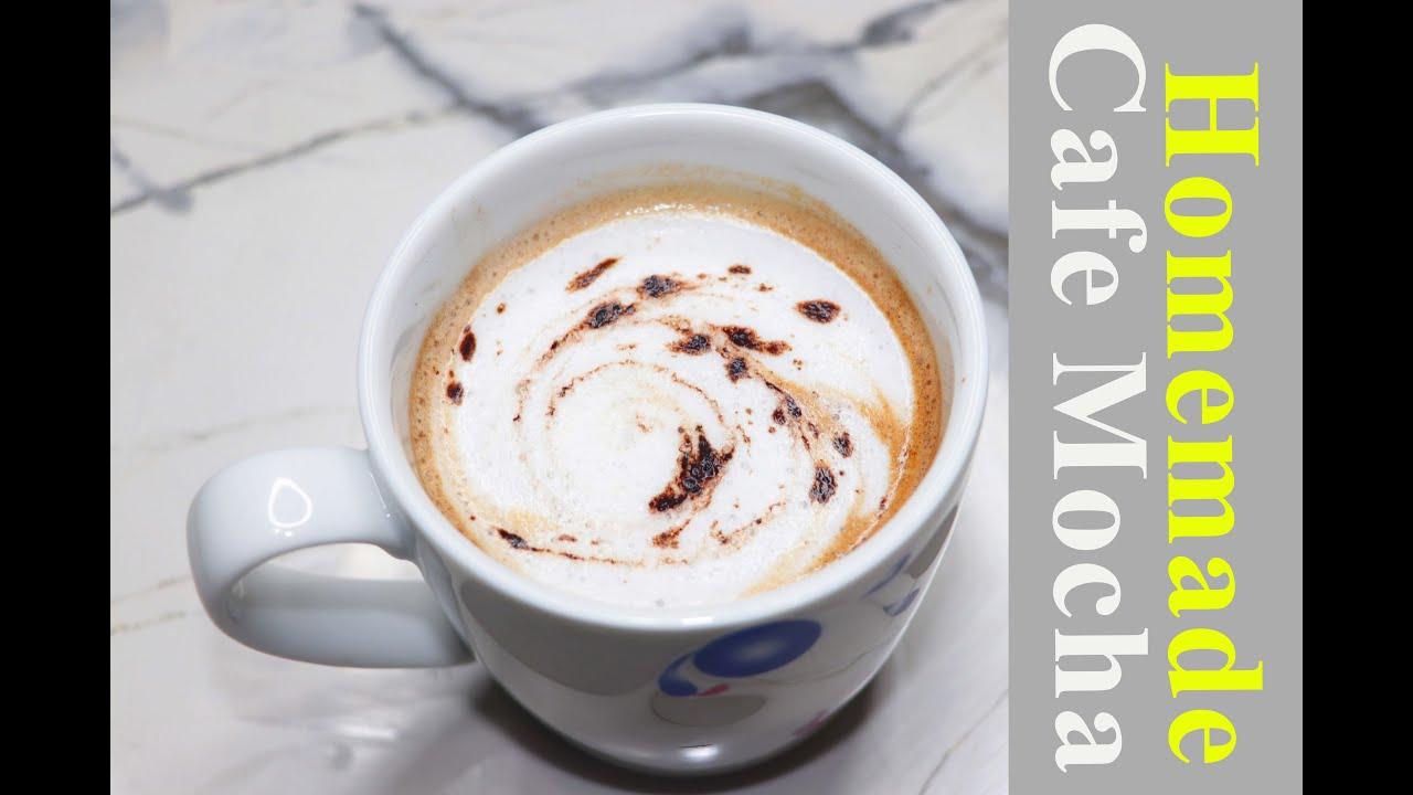 Easy café mocha | How to make mocha