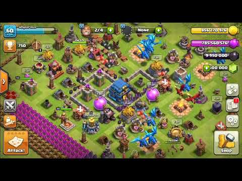 Clash Of Clans (COC) Mod Unlimited Golds, Unlimited Elixir, Unlimited Gems, No Troop Cooldown
