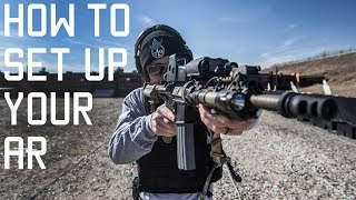 How to setup your AR | Assault Rifle shooting tips | Tactical Rifleman