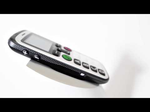 Seniorenhandy Doro Secure 580 Schwarz-Weiß