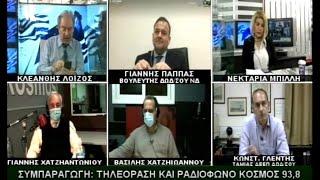 ΙΩΑΝΝΗΣ ΠΑΠΠΑΣ - TV KOSMOS (15-4-21)