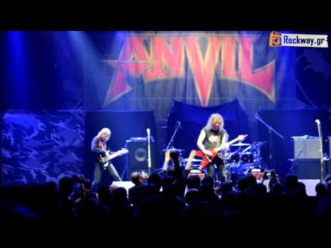 """ANVIL """"Free As The Wind"""" (19/3/16) live @ Athens HQ"""
