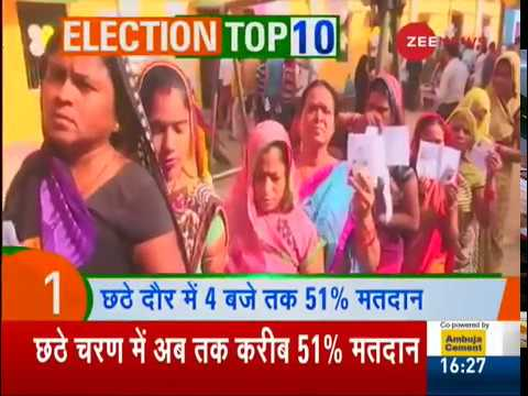 Election Top 10: Watch top 10 news of Lok Sabha Elections